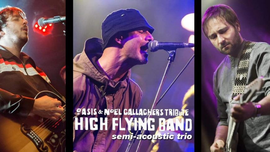 HIGH FLYING BAND LIVE – SABATO 6 APRILE 2019