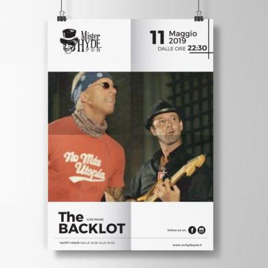BACKLOT LIVE – 11 Maggio