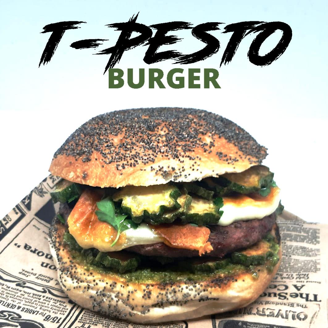 T-PESTO BURGER – Panino del Mese